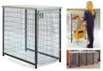 Бокс для хранения покупательских тележек /оборудование для магазинов Wanzl